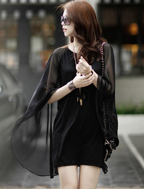 Hot fashion personality charming dolman sleeve dress on luulla for Charming personality